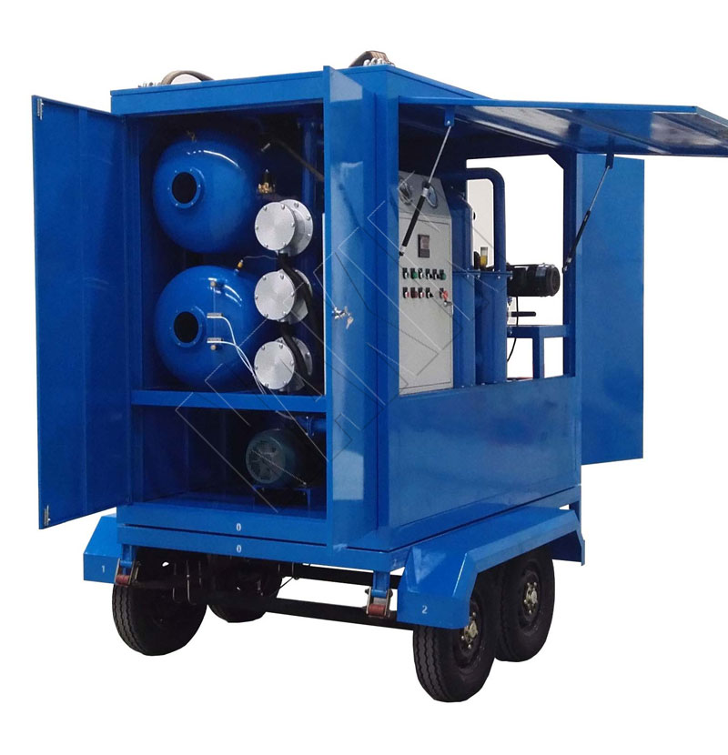 ZYM Trailer Transformer Oil Filtration Plant
