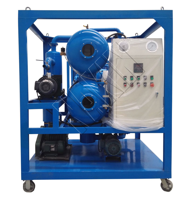 ZYD Double Stage Vacuum Transformer Oil Filtration