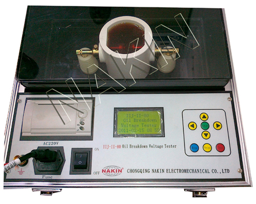 IIJ-II Breakdown Voltage Oil Tester
