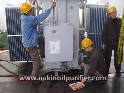 Transformer maintenance -Transformer oil knowledge
