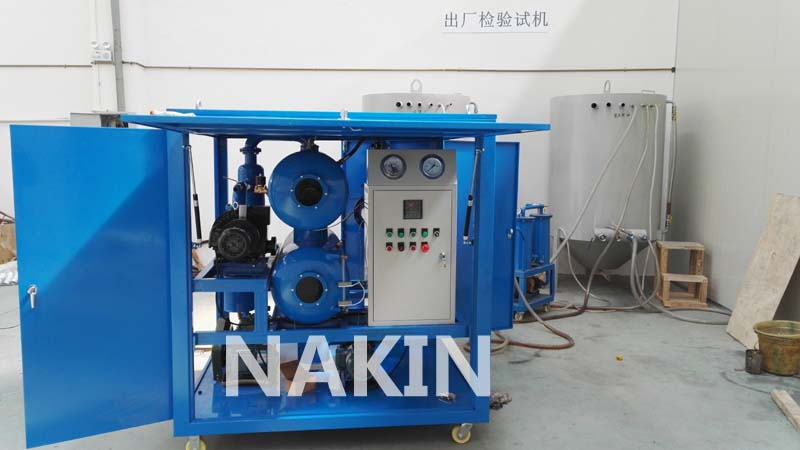 Online Transformer Oil Filtration Machine
